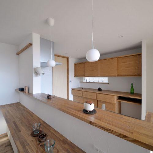木漏れ日の家 キッチン
