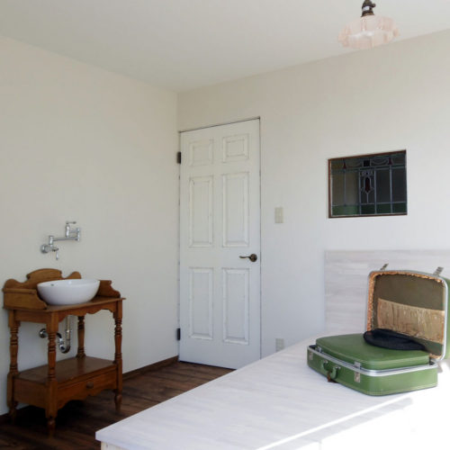 アンティークの似合う ヴィンテージハウス 寝室