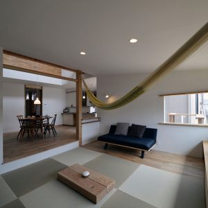 木漏れ日の家 和室