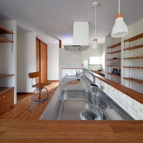 茶の湯の家 キッチン