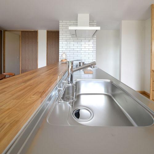 かしの木の家 キッチン