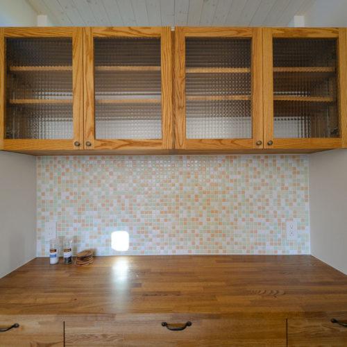 カリフォルニアスタイルの家 棚