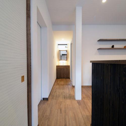 本質改善型リフォーム『大野の家』廊下