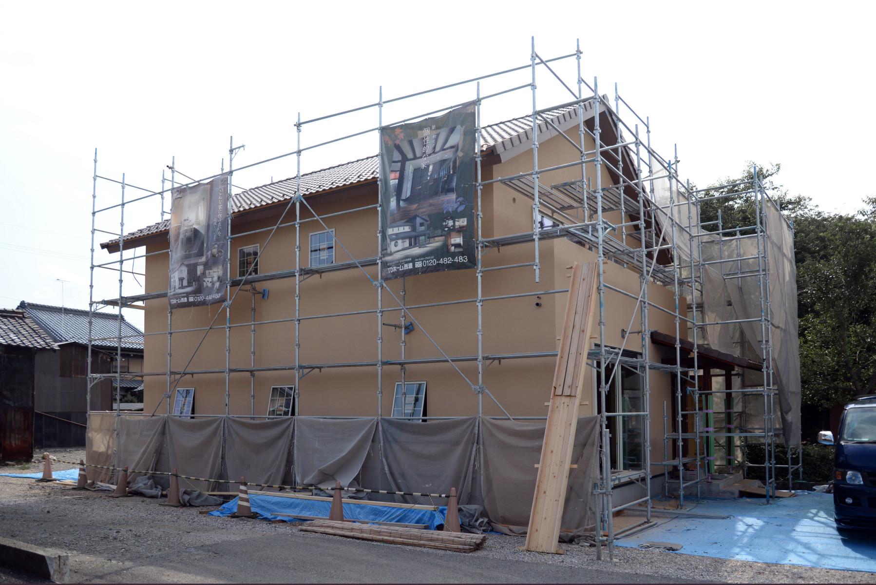 24外壁塗装完了