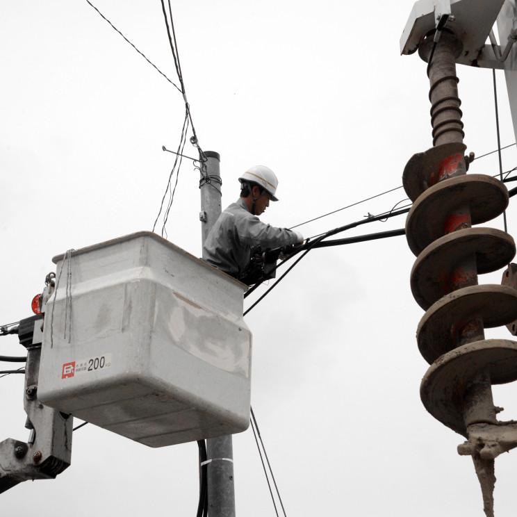 電柱移設工事001