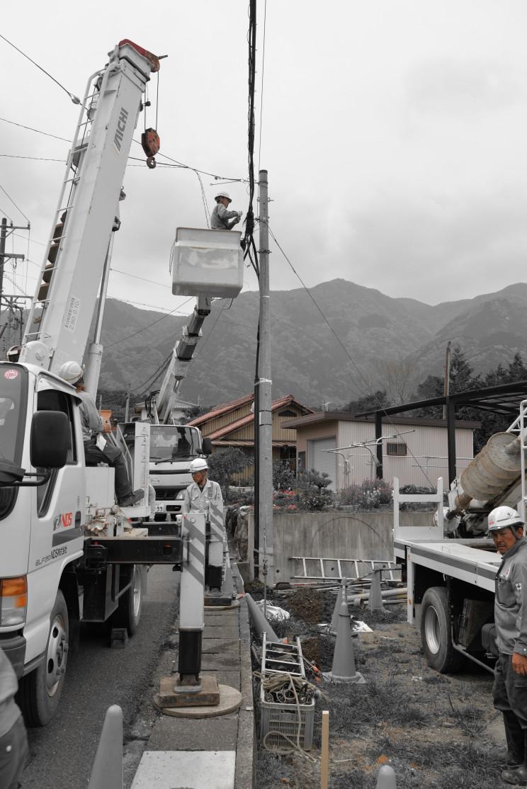 電柱移設工事002