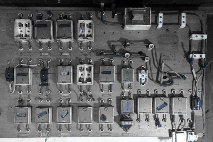 ①80年前の分電盤