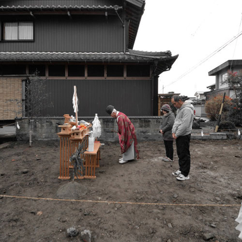【建築途中】入籠の家