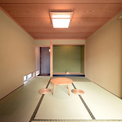 杉と漆喰のパッシブデザインハウス 和室