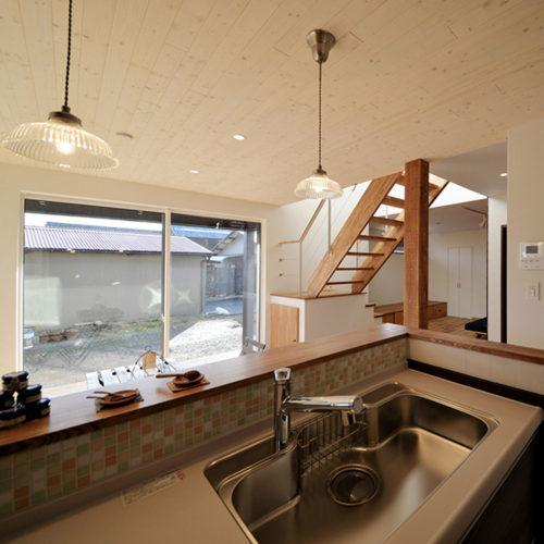 カリフォルニアスタイルの家 キッチン
