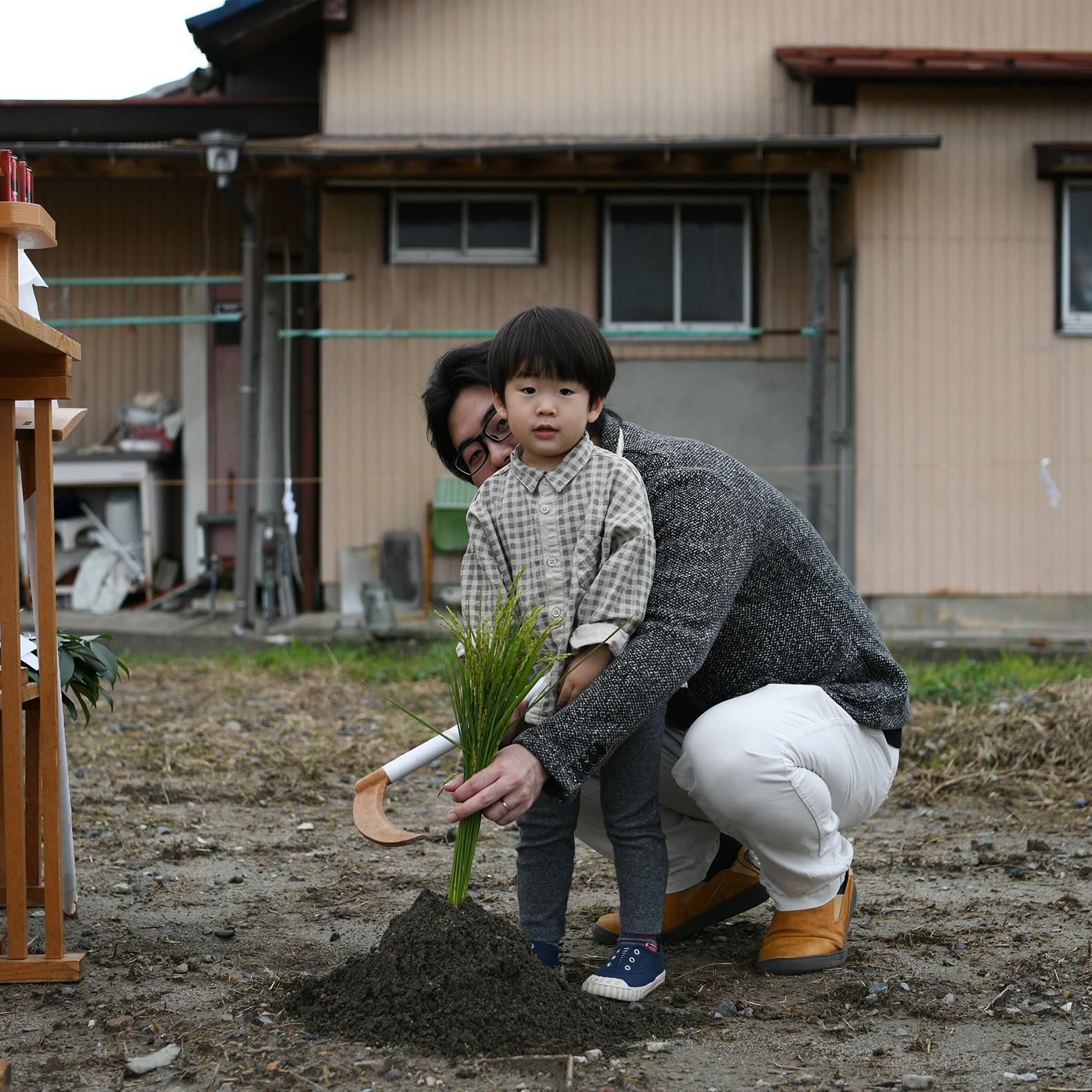 【建築途中】畑空の家