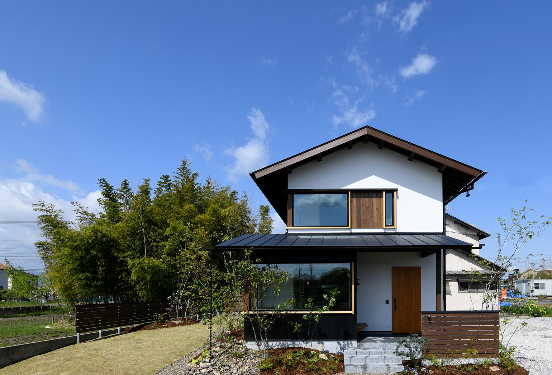 木の家 外観 パッシブデザイン