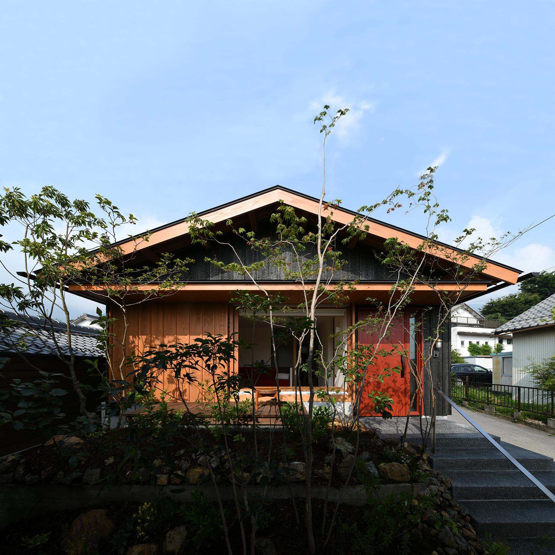 焼杉 外観 木の家