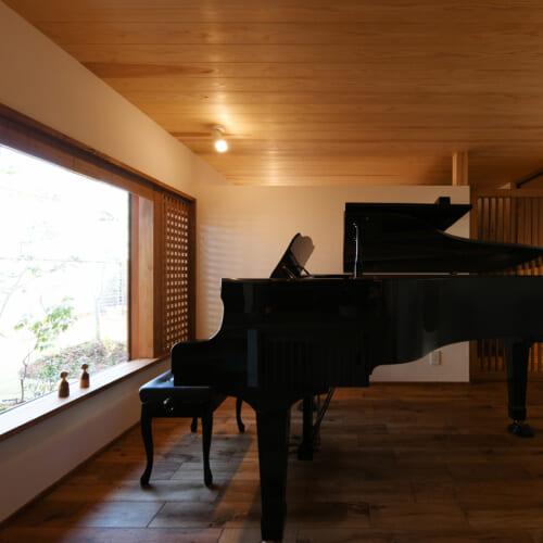ブランドピアノ部屋