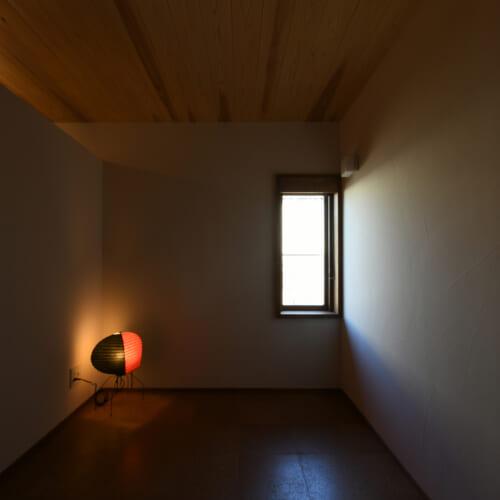 小部屋 杉板天井