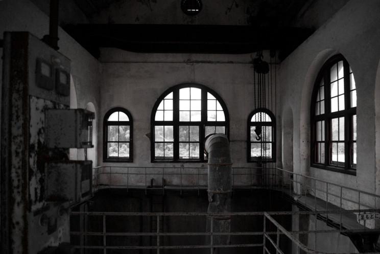 1世紀前の発電所