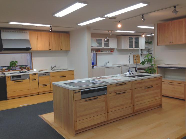 無垢のキッチン