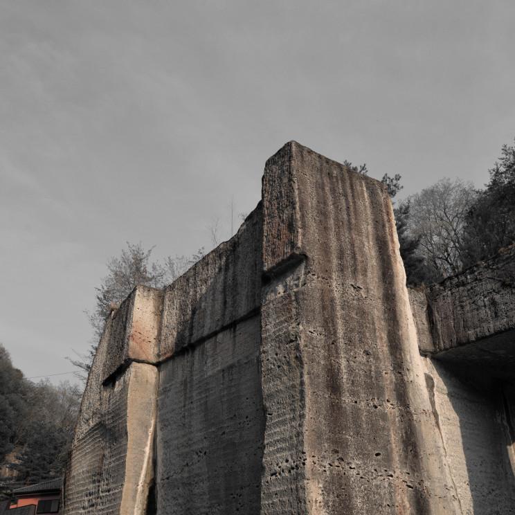 大谷石加工場